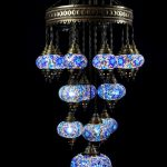 Domed mosaic lamp 19 glass ball size 3