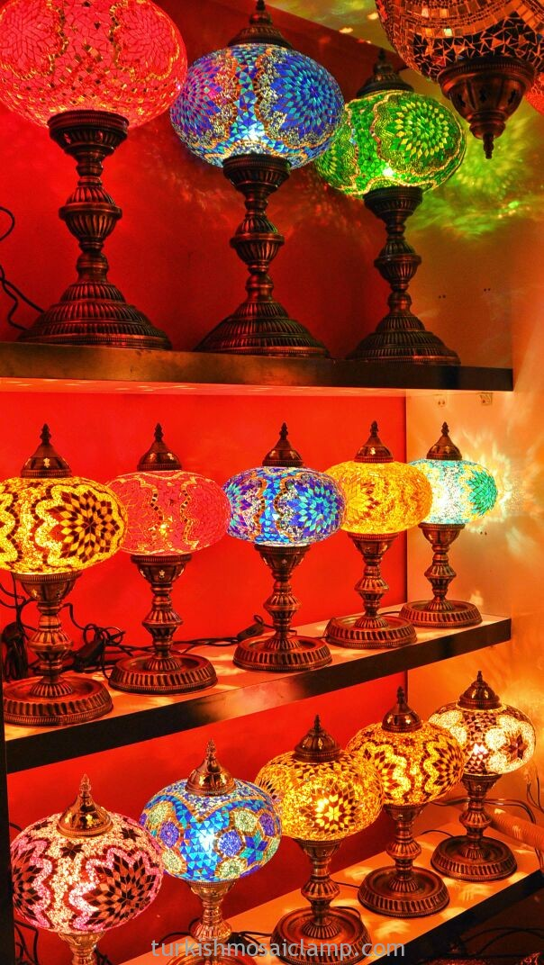 THE BEAUTY OF TURKISH MOSAIC LAMPS