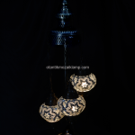 Authentic mosaic lamps shade
