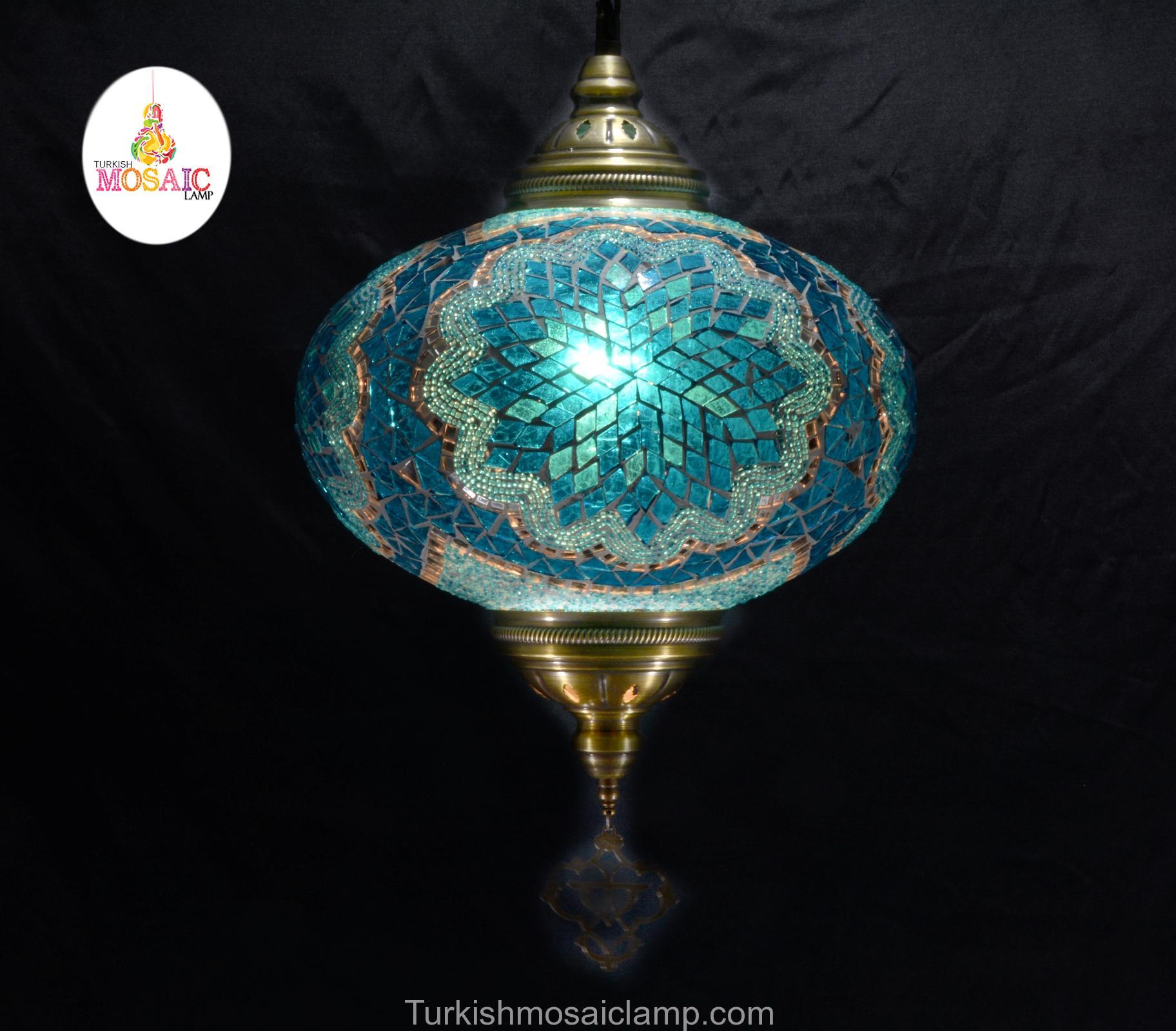 Лампа мозаики индейки