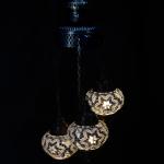 3 Lambader mosaic lamp