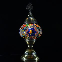 Table Mosaic Lamp Size 2