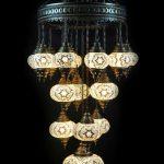 Turkish hand made glass lamp