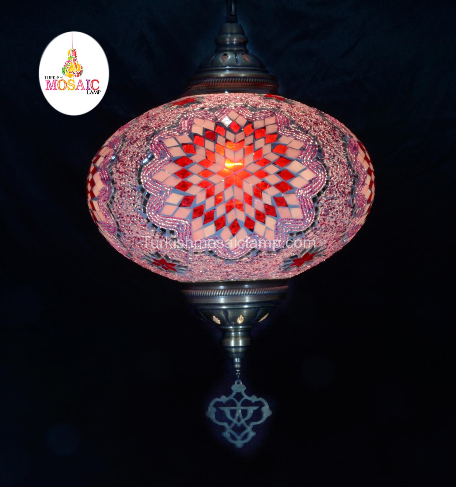 Ceiling mosaic lamp size 6