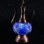 Colorful mosaic lamp