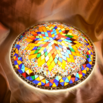 2017 mosaic lamp