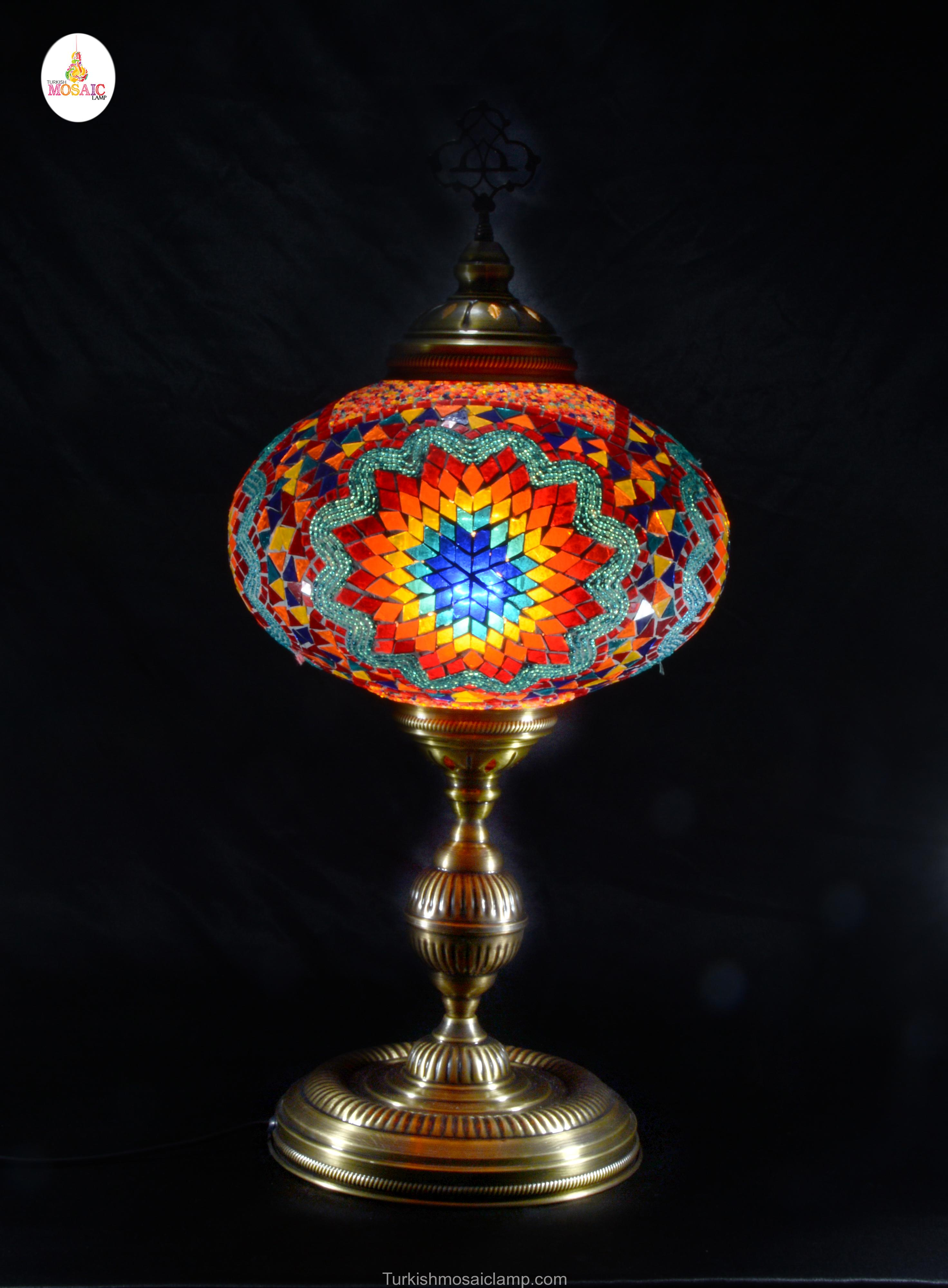 Table Mosaic Lamp Size 6 Mosaic Lamp Mosaic Lamp Exporter