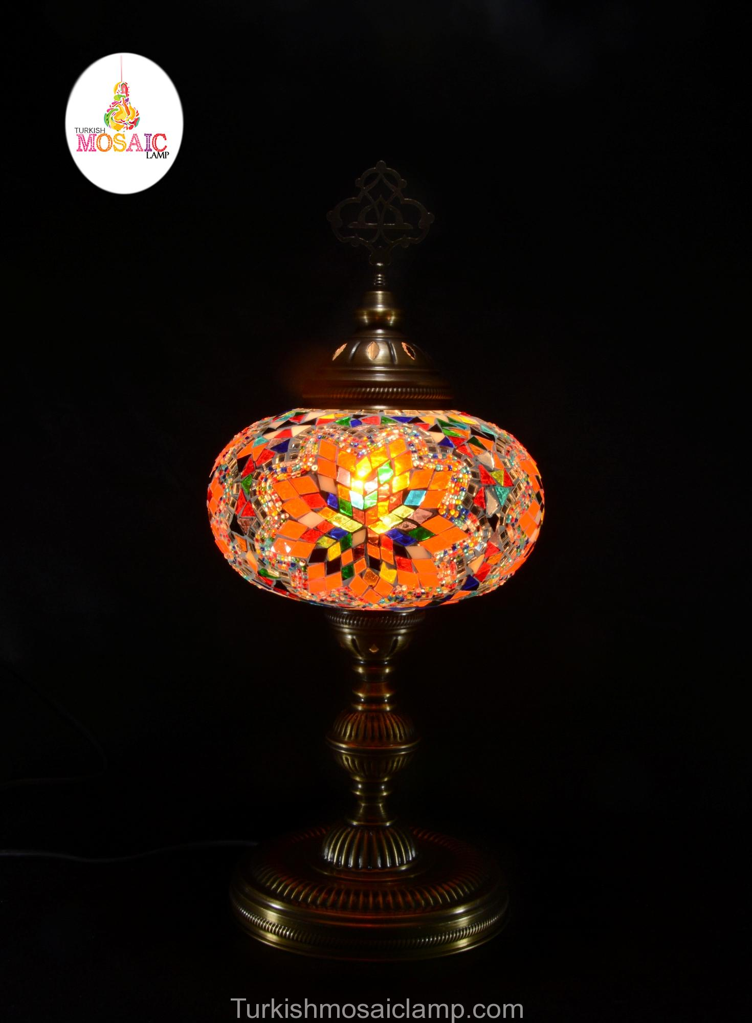 Table mosaic lamp size 5