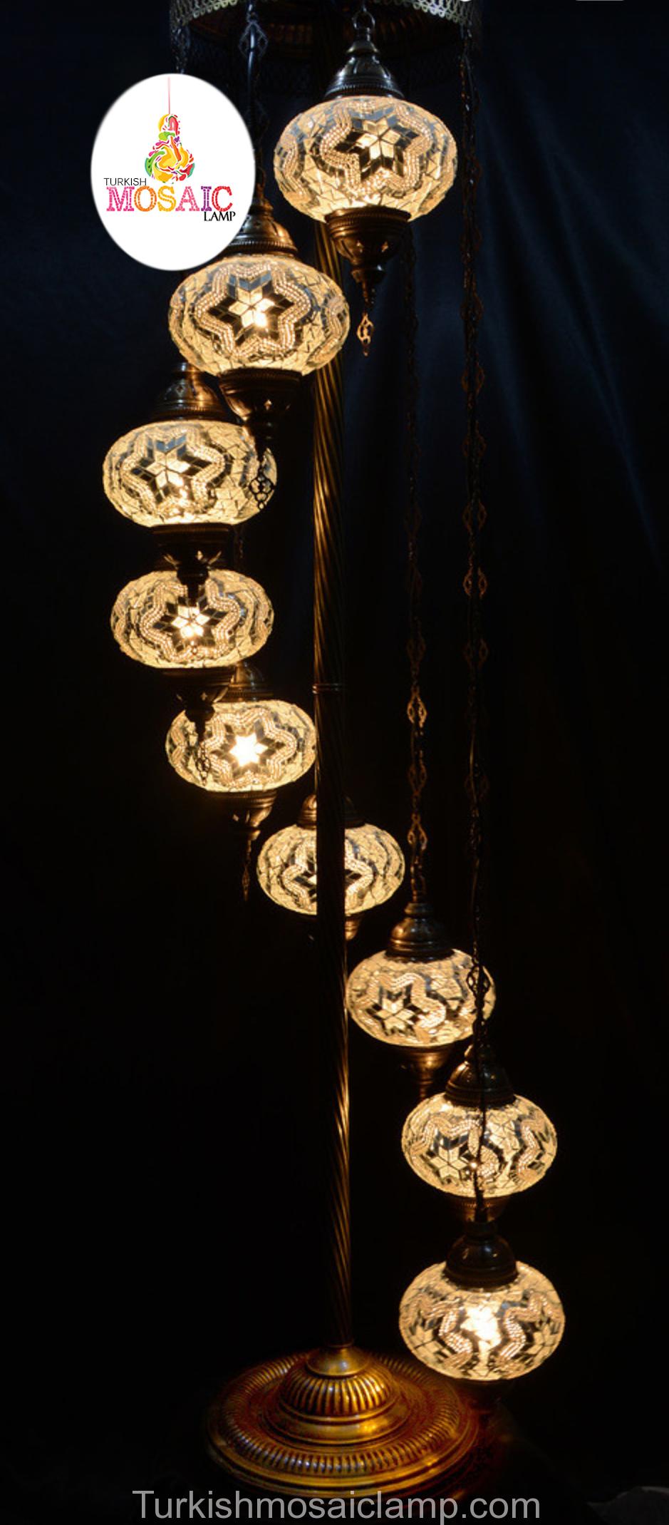 turkey-spiral-standing-mosaic-lamp