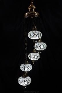 Chili Turkish mosaic lamp