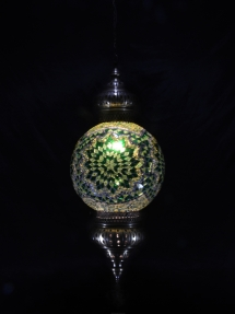 Single Chain 30 cm ball mosaic lamp (1)