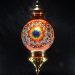 Single Chain 30 cm ball mosaic lamps