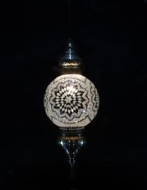Single Chain 30 cm ball mosaic lamp