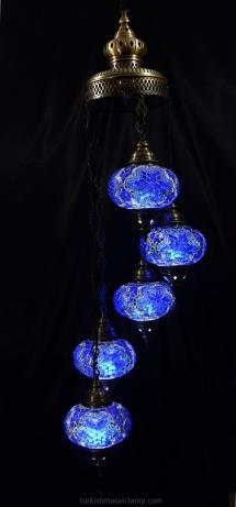 chili mosaic lamp