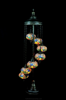 colombia mosaic lamp