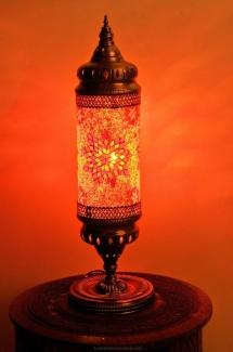 cylinder mosaic lamp (1)