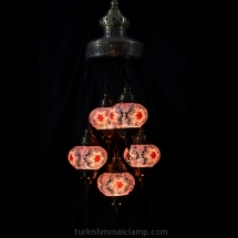 domed sultan mosaic lamp set of size 3