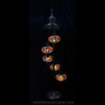 floor mosaic lamp set of 5 size 3 (3)