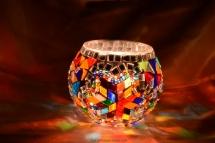 mosaic candle holder (2)