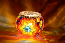 mosaic candle holder (4)