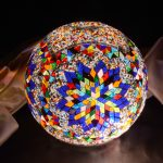 Mosaic Lamp Glass Model 30cm Ball
