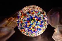 mosaic lamp glass model 30 cm ball (12)