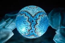 mosaic lamp glass model 30 cm ball (13)