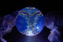 mosaic lamp glass model 30 cm ball (6)