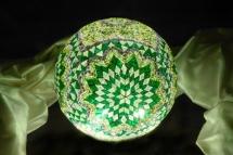 mosaic lamp glass model 30 cm ball (8)