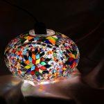 Groningen mosaic lamp