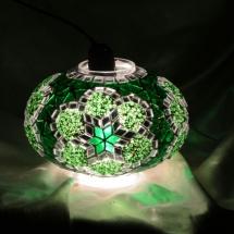 newyork mosaic lamp glass flower model