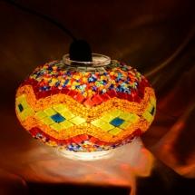 newyork mosaic lamp glass model