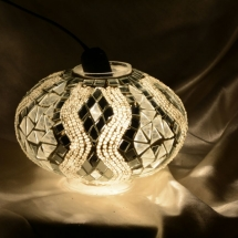 newyork mosaic lamp new glass model