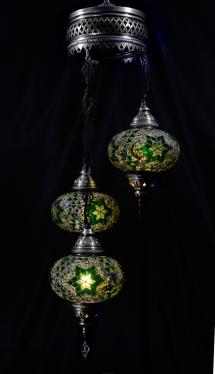 puerto rico mosaic lamp