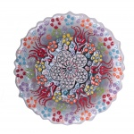 Turkish Handmade Ceramic Plate 12 cm