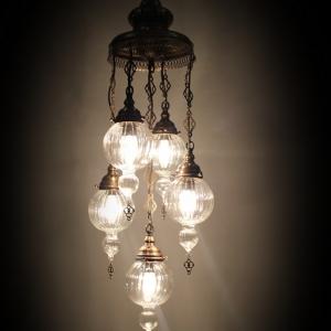 4+1 chandelier