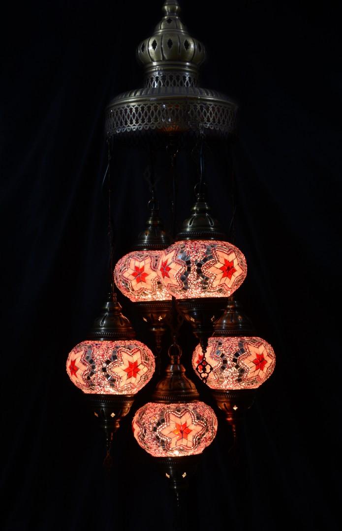 Hong Kong Mosaic Lamp