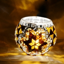Romantic candle holder Glass candle holder (3)