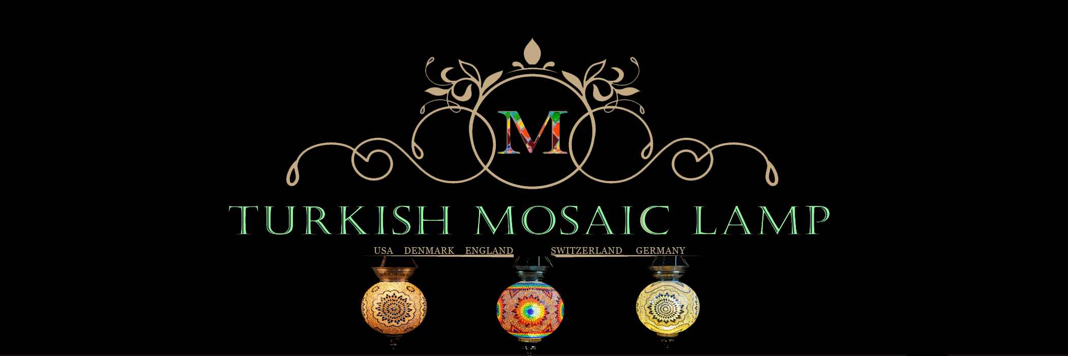 Mosaic Lamp, Mosaic Lamps, Mosaic Turkish Lamp