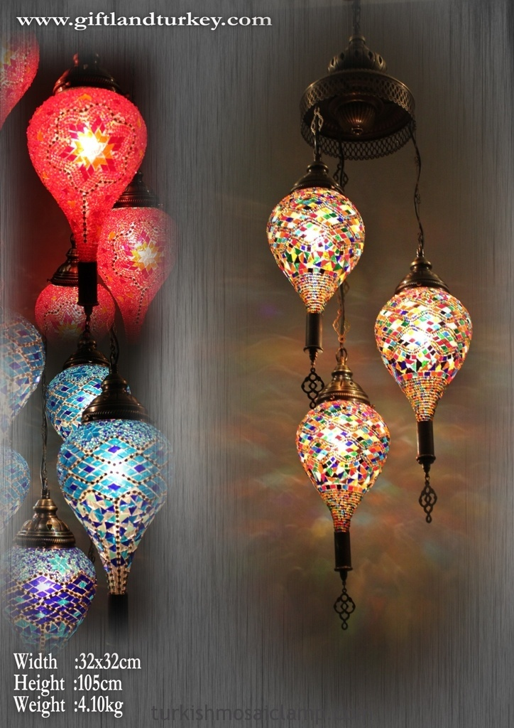 decor mosaic en wrought glass for lamp iron lamps lanterns diwali multicolour home