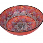 Turkish handmade ceramic bowl 30cm