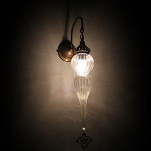 ottoman wall pyrex lamp
