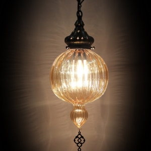 single chain pyrex light