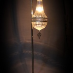Handmade Street blown glass lamp