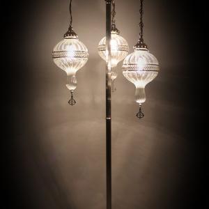 street floor pyrex lamp
