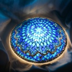 Turkish Handmade Mosaic Wall Lamp