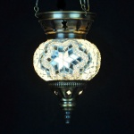 Cheap 3 Chain Mosaic Lamp