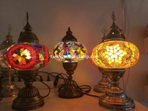 1-2-3 size table mosaic lamp (5)