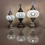 Size 1,2,3 Table Mosaic Lamp