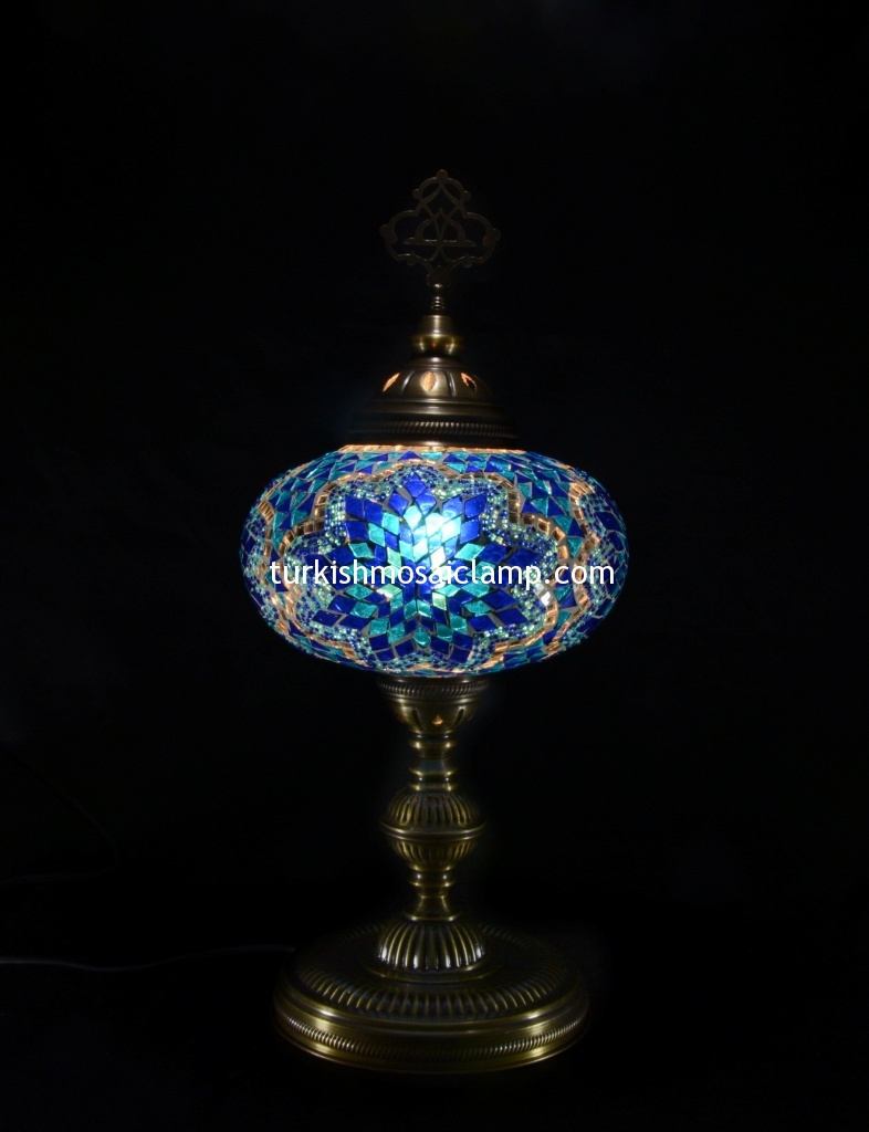 Table floor lamp light rustic style lightinig mosaic turkish the globe is made from hand blown glass we use hand cut colored glass as well as glass beads to create the pattern we do not use stained glass or plastic geotapseo Gallery